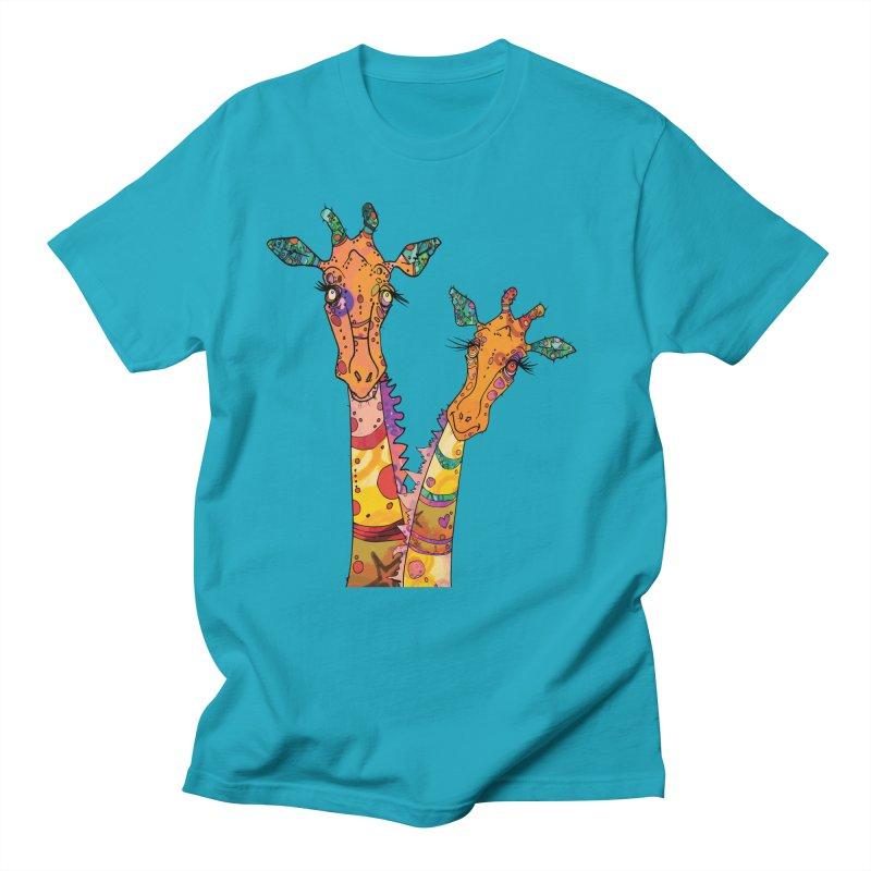 Cat Slides  Men's T-Shirt by mandascats's Shop