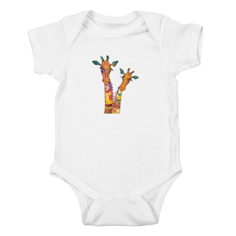 Cat Slides  Kids Baby Bodysuit by mandascats's Shop