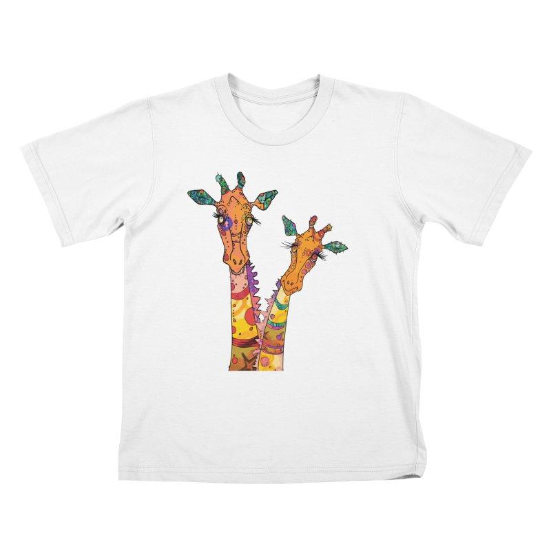Cat Slides  Kids T-Shirt by mandascats's Shop