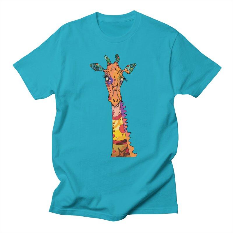 Mr Geoff - the Cat Slide  Men's T-Shirt by mandascats's Shop