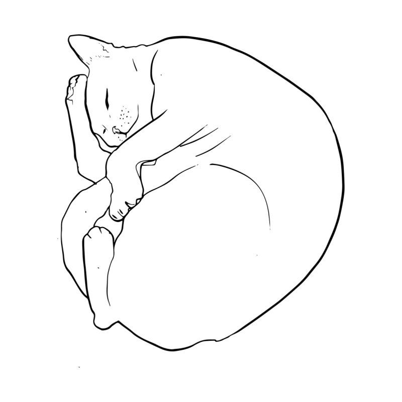 Sleeping cat  Kids Baby Longsleeve Bodysuit by mandascats's Shop