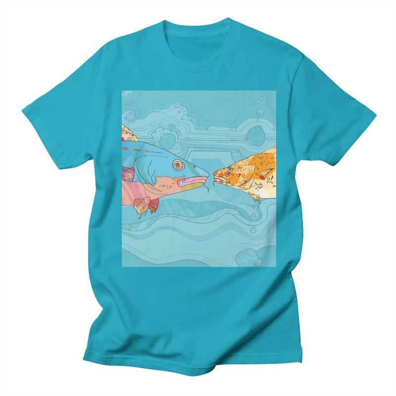 Cod Heads  Men's T-Shirt by mandascats's Shop