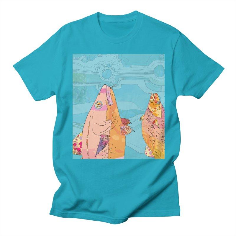 More Cod Heads  Men's T-Shirt by mandascats's Shop
