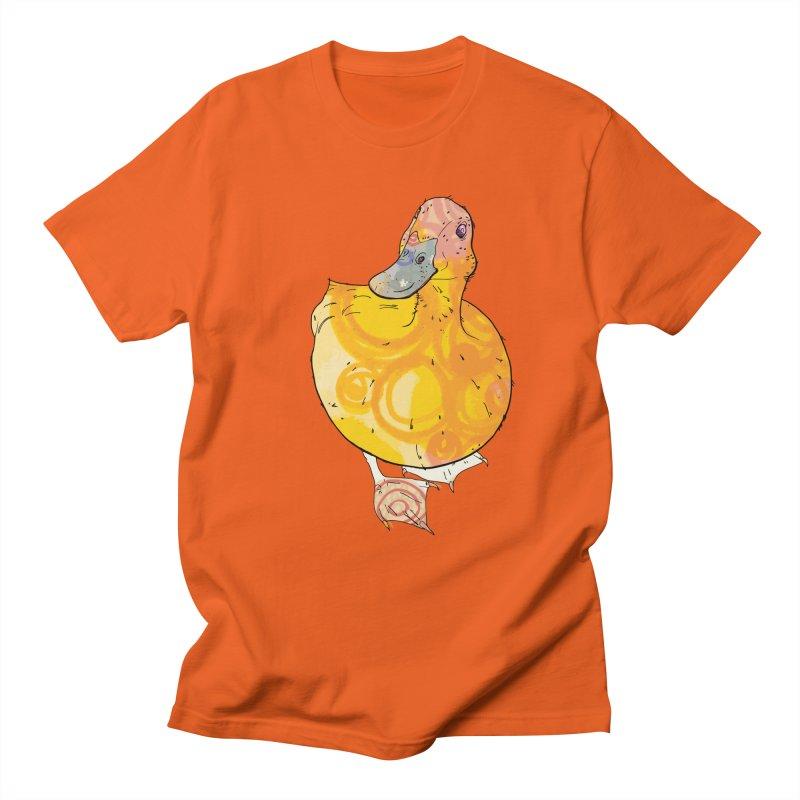 DUCK Men's T-Shirt by mandascats's Shop