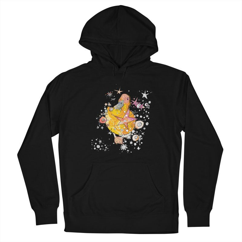 Duck with stars  Men's Pullover Hoody by mandascats's Shop