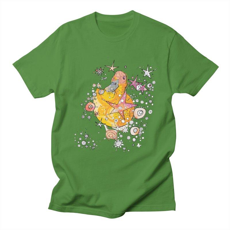 Duck with stars  Men's T-Shirt by mandascats's Shop