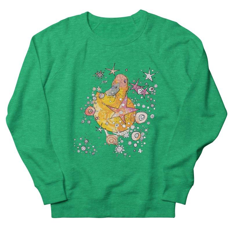 Duck with stars  Men's Sweatshirt by mandascats's Shop