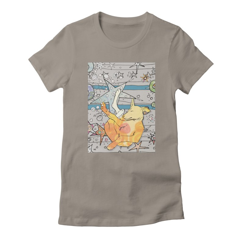 Let sleeping dogs lie... Women's T-Shirt by mandascats's Shop