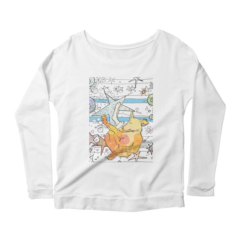 Let sleeping dogs lie... Women's Longsleeve T-Shirt by mandascats's Shop