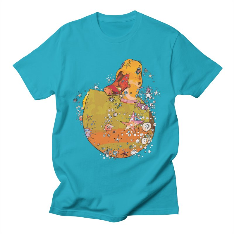 Hook a Duck Men's T-Shirt by mandascats's Shop