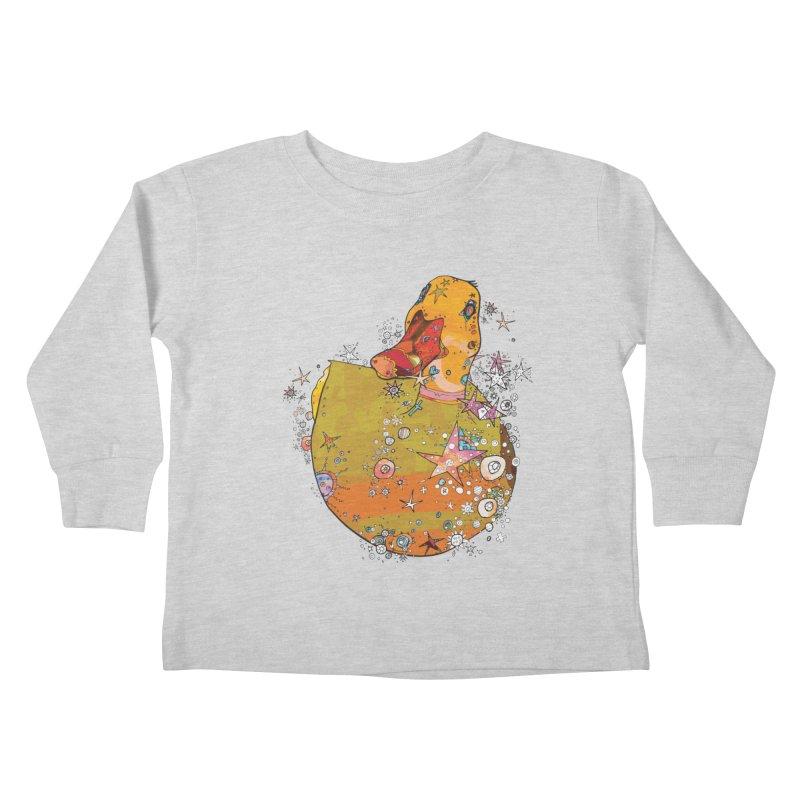 Hook a Duck Kids Toddler Longsleeve T-Shirt by mandascats's Shop