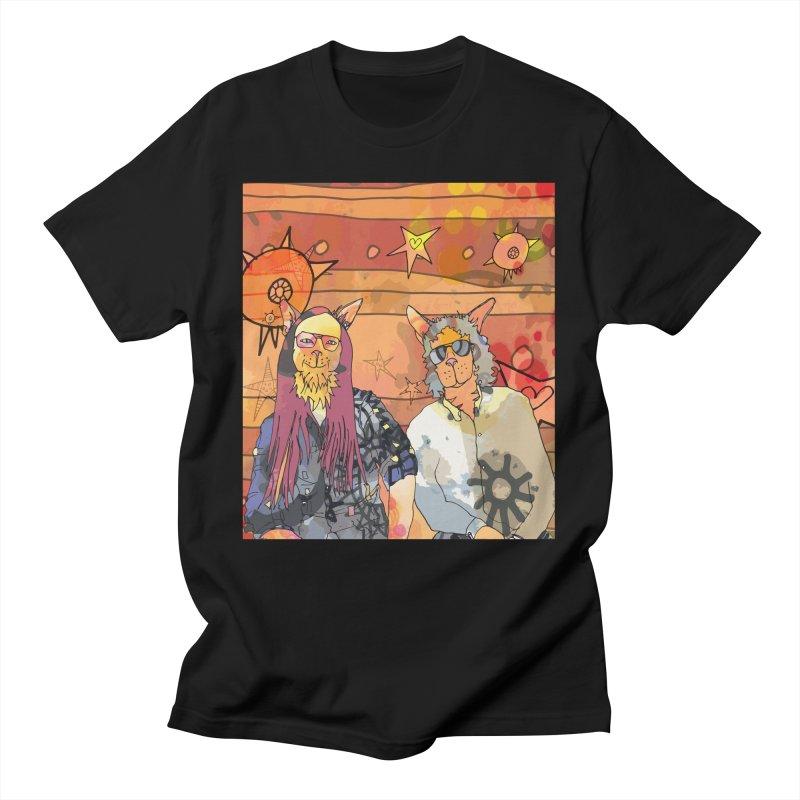 Gordon's Cats  Men's T-Shirt by mandascats's Shop