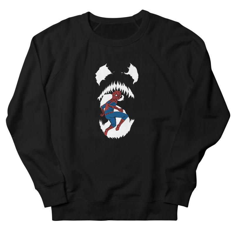 Spider Hunt Women's French Terry Sweatshirt by mandoexclamationpoint's Artist Shop