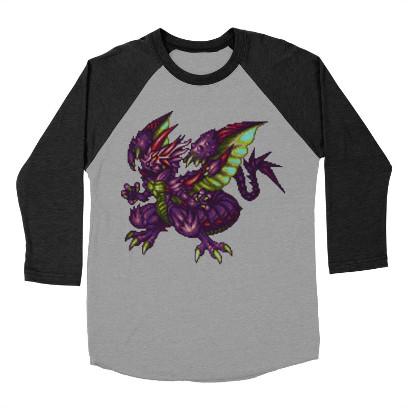 Grand Dragon Men's Baseball Triblend T-Shirt by mandoexclamationpoint's Artist Shop