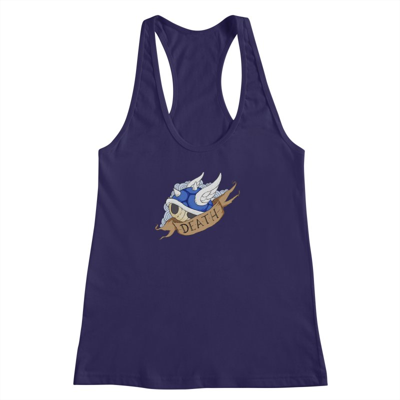 The End Women's Racerback Tank by mandoexclamationpoint's Artist Shop