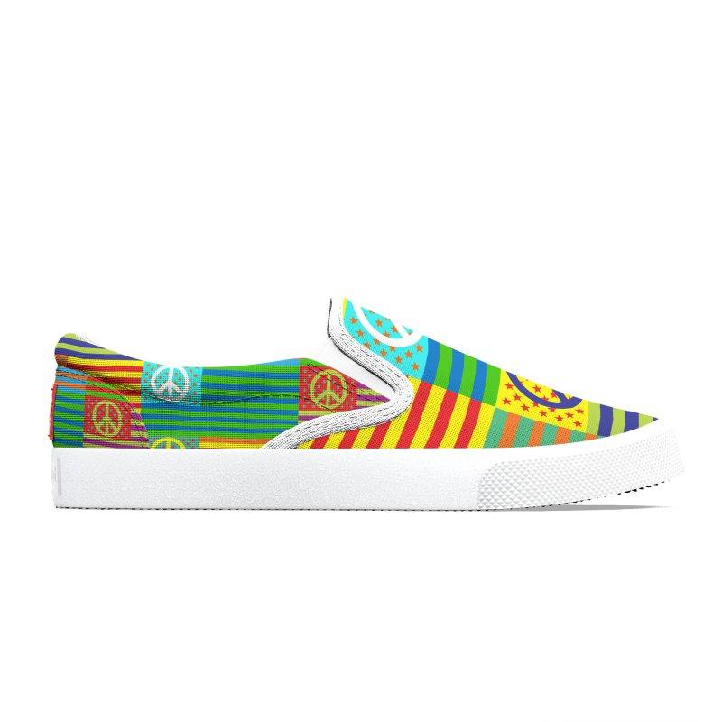 United Peace Flag Women's Shoes by Armando Padilla Artist Shop