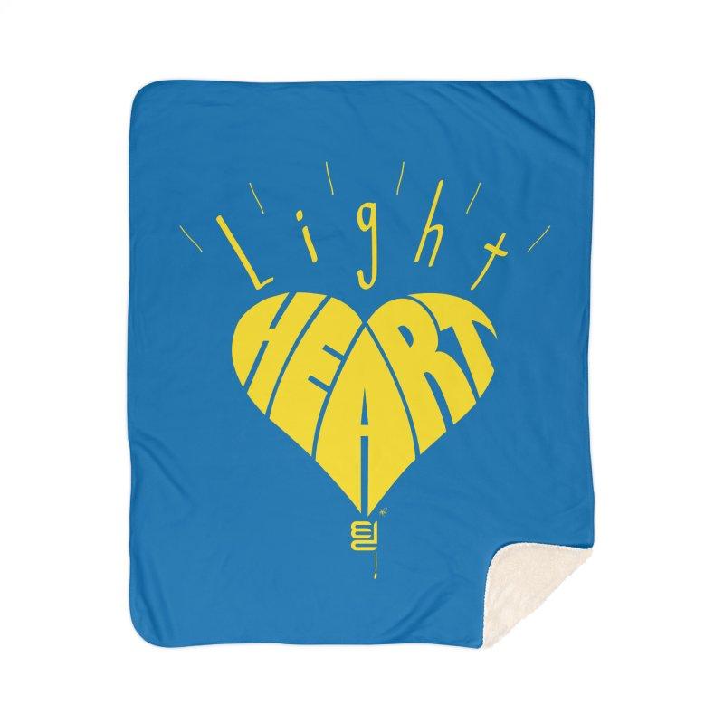 Light Hearted Home Blanket by Armando Padilla Artist Shop