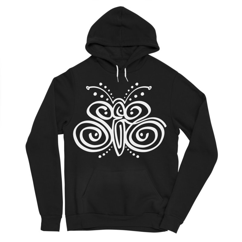 Sex Butterfly Women's Sponge Fleece Pullover Hoody by Armando Padilla Artist Shop