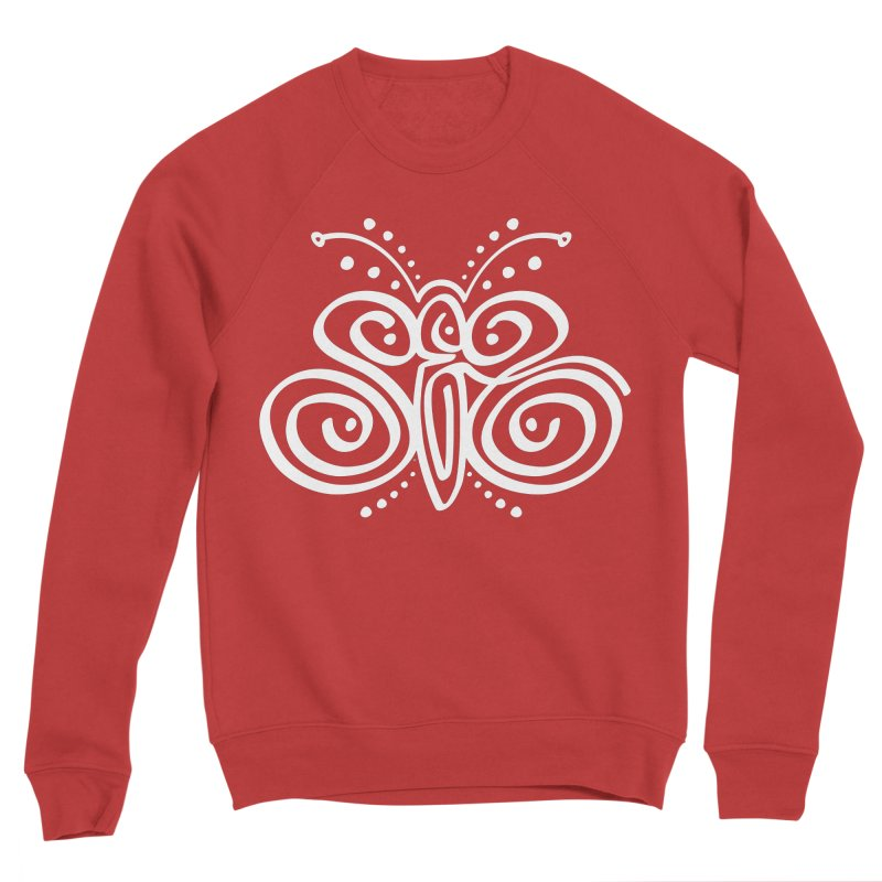 Sex Butterfly Women's Sponge Fleece Sweatshirt by Armando Padilla Artist Shop