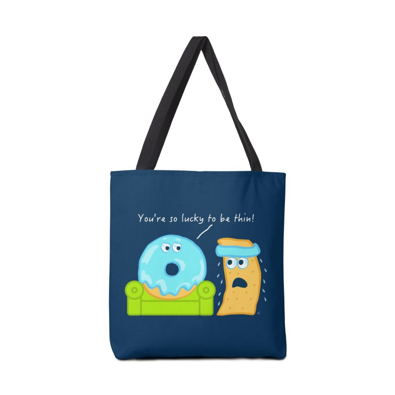 Lucky Diet Accessories Tote Bag Bag by Armando Padilla Artist Shop