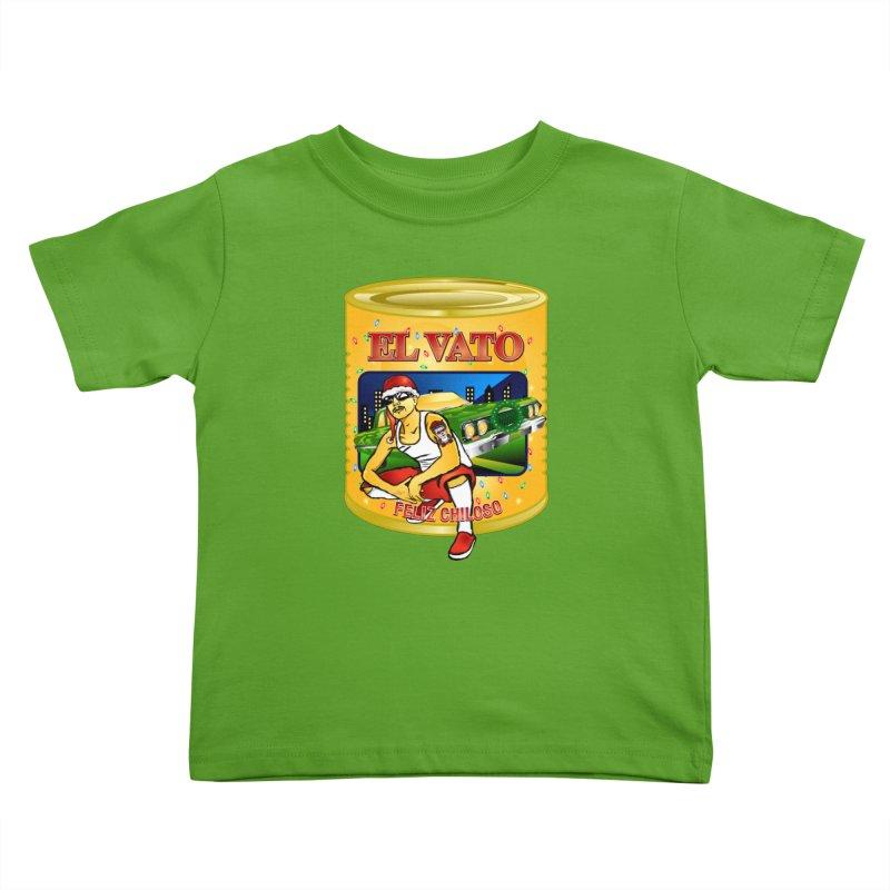 Santa Vato Kids Toddler T-Shirt by Armando Padilla Artist Shop