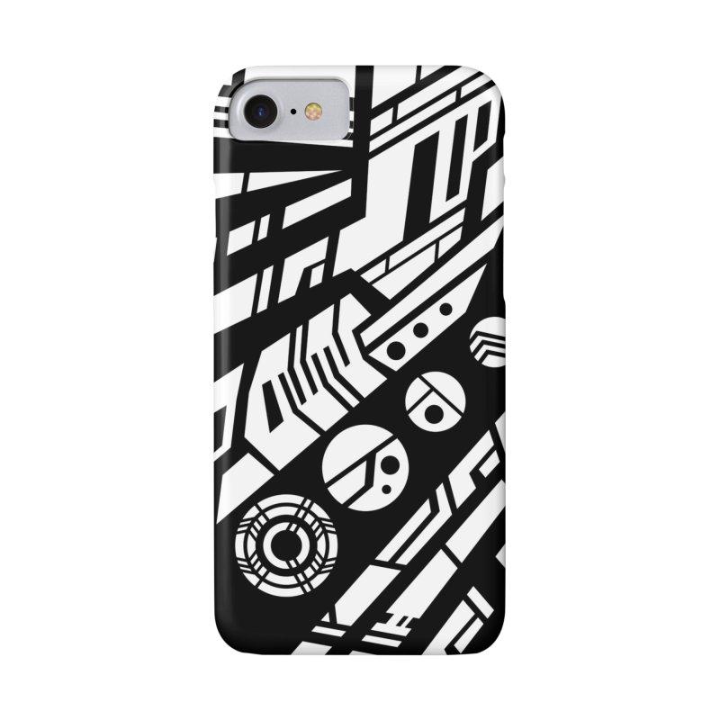 MP Guitar Stripes & Circles Accessories Phone Case by Armando Padilla Artist Shop