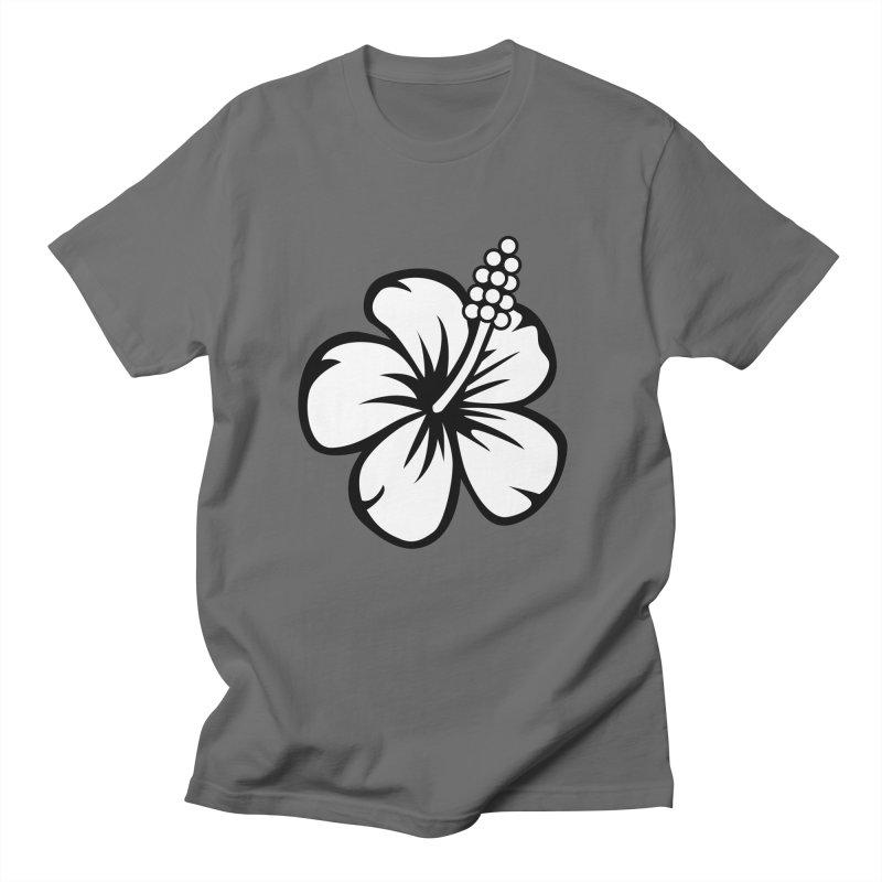 Hibiscus Blanc Women's T-Shirt by Armando Padilla Artist Shop