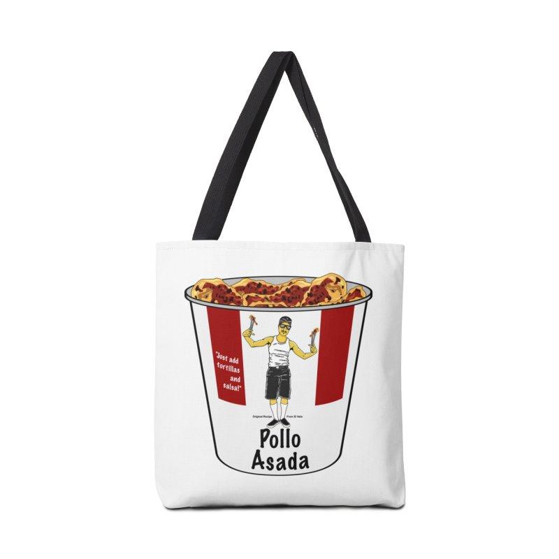 Pollo Asada Accessories Tote Bag Bag by Armando Padilla Artist Shop