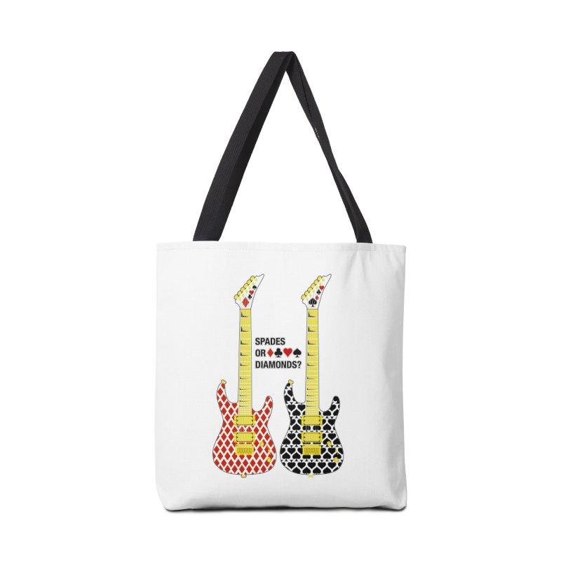 Spades or Diamonds? Accessories Tote Bag Bag by Armando Padilla Artist Shop