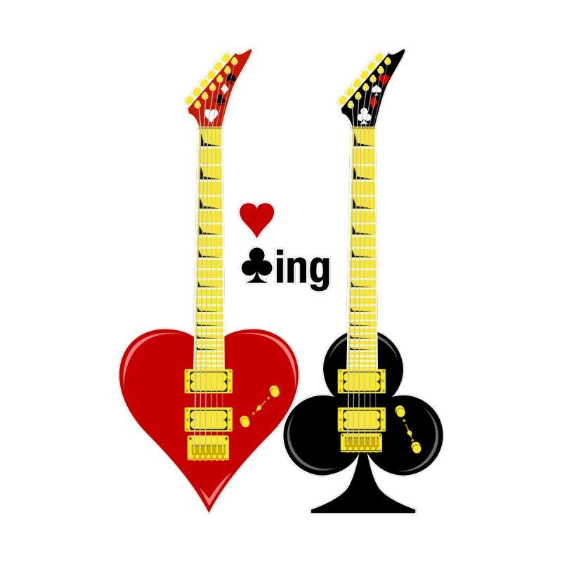 Guitars Love Clubbing Home Blanket by Armando Padilla Artist Shop