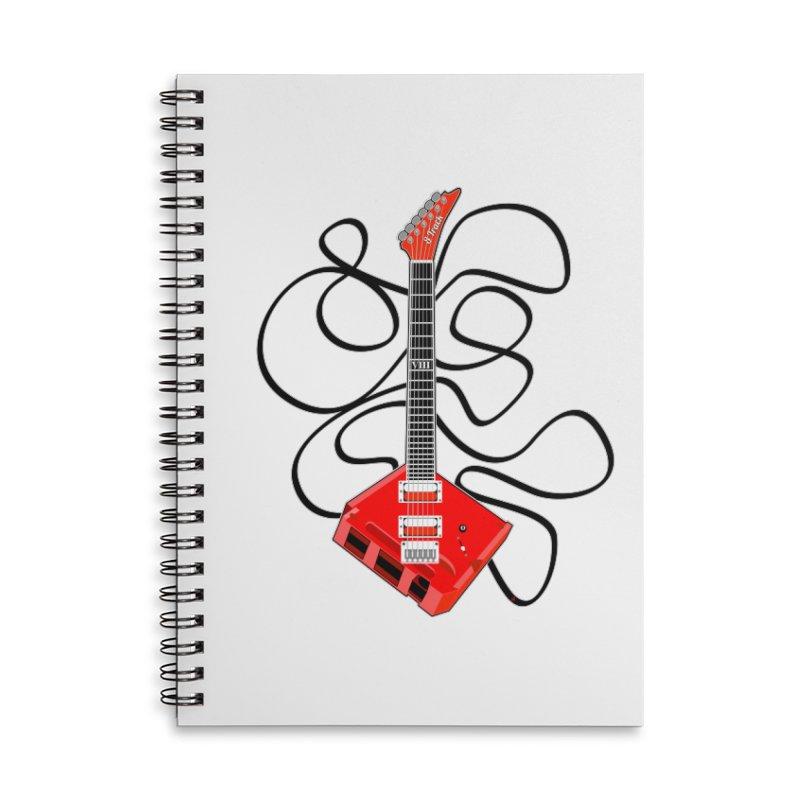 8-Track Guitar Accessories Notebook by Armando Padilla Artist Shop