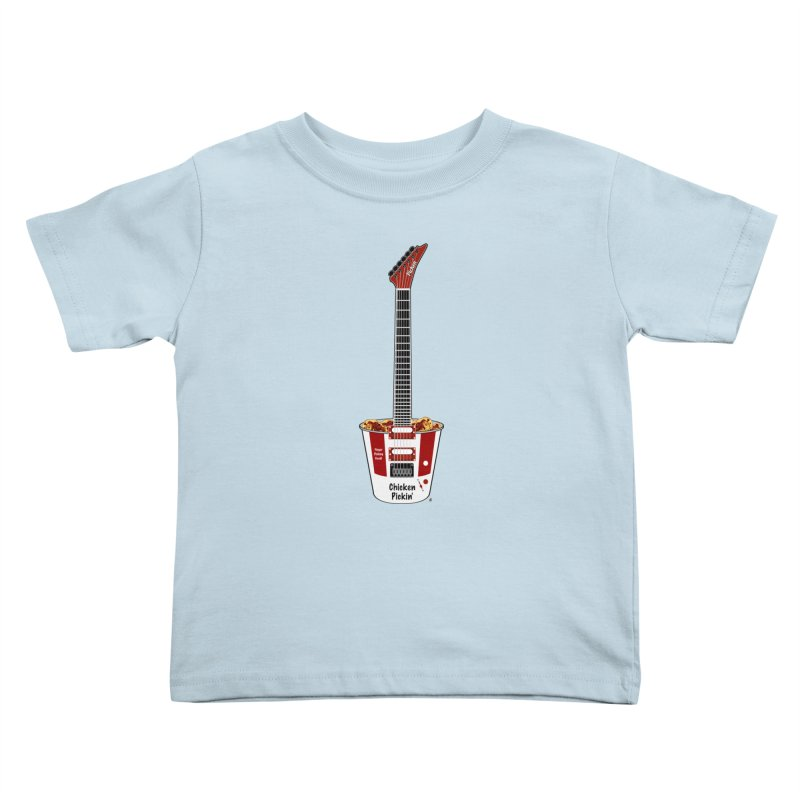 Chicken Pickin' Kids Toddler T-Shirt by Armando Padilla Artist Shop