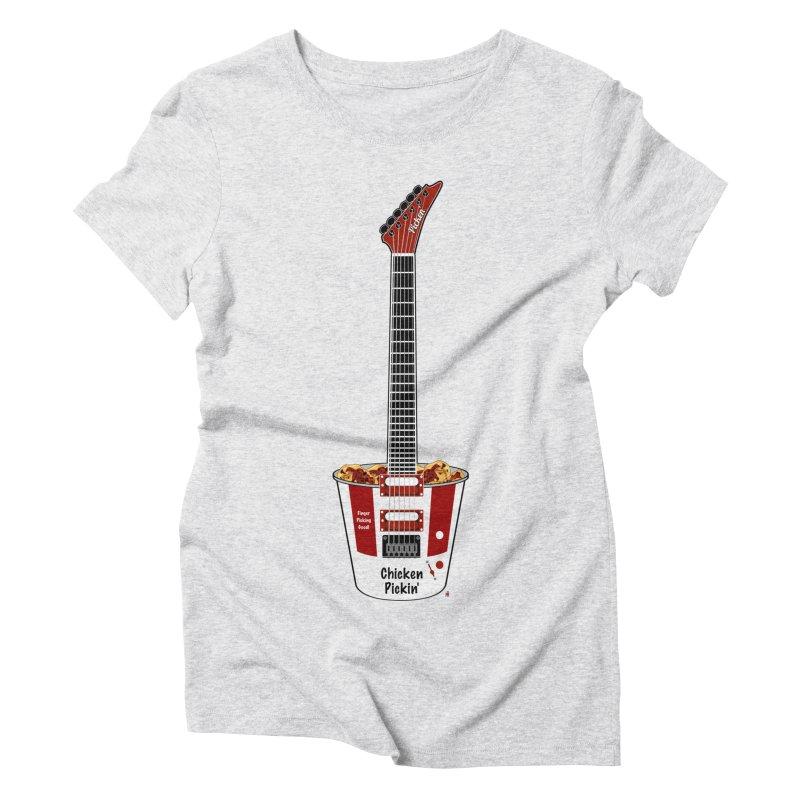 Chicken Pickin' Women's T-Shirt by Armando Padilla Artist Shop