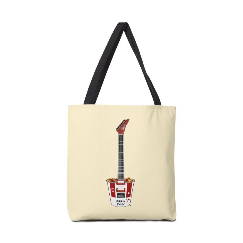 Chicken Pickin' Accessories Tote Bag Bag by Armando Padilla Artist Shop
