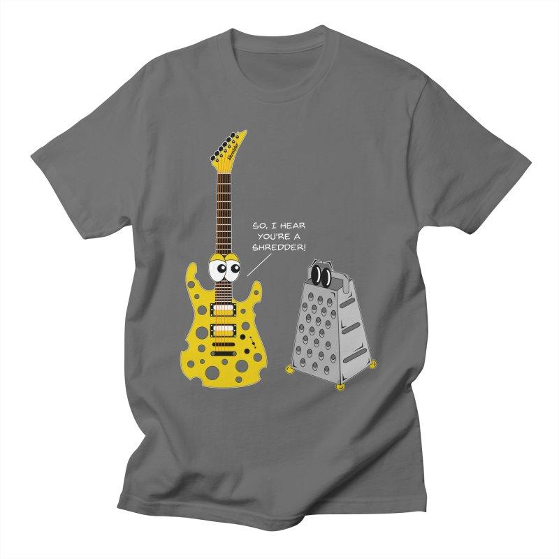 Shred Guitar Men's T-Shirt by Armando Padilla Artist Shop