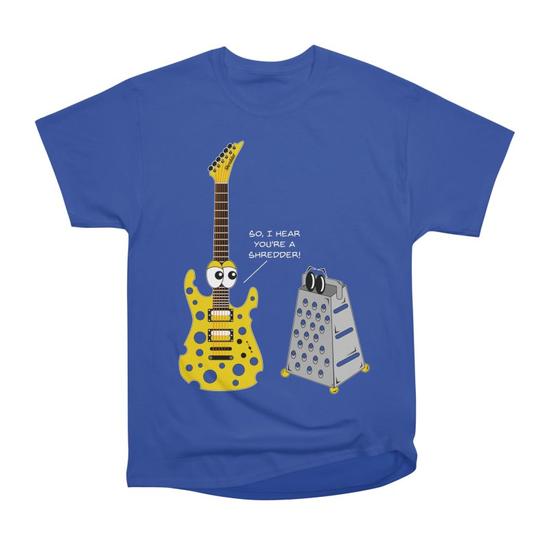 Shred Guitar Men's Heavyweight T-Shirt by Armando Padilla Artist Shop