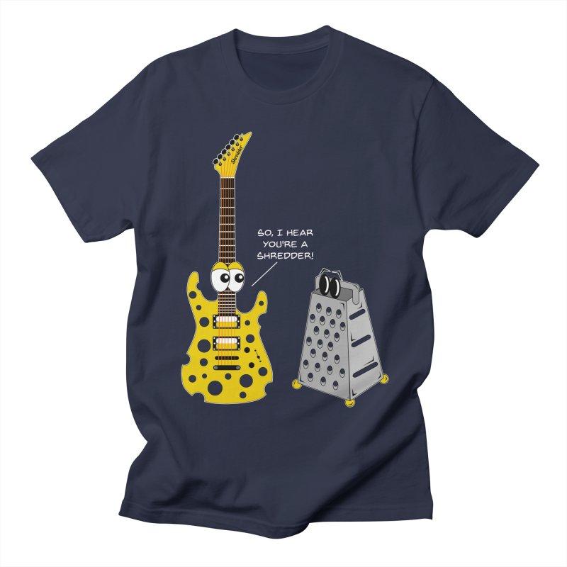 Shred Guitar Women's Regular Unisex T-Shirt by Armando Padilla Artist Shop