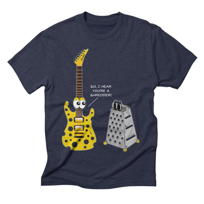 Shred Guitar Men's Triblend T-Shirt by Armando Padilla Artist Shop