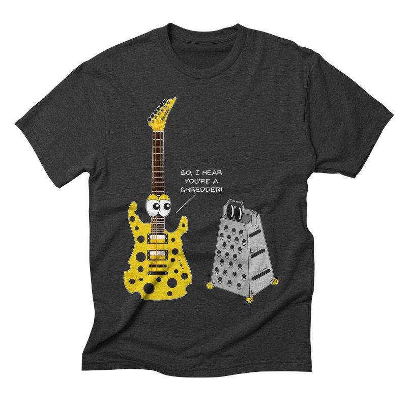 Shred Guitar Men's Triblend T-Shirt by Armando Padilla Artist Shop