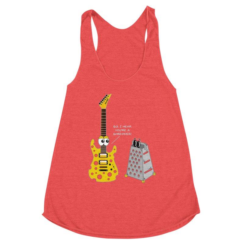 Shred Guitar Women's Tank by Armando Padilla Artist Shop
