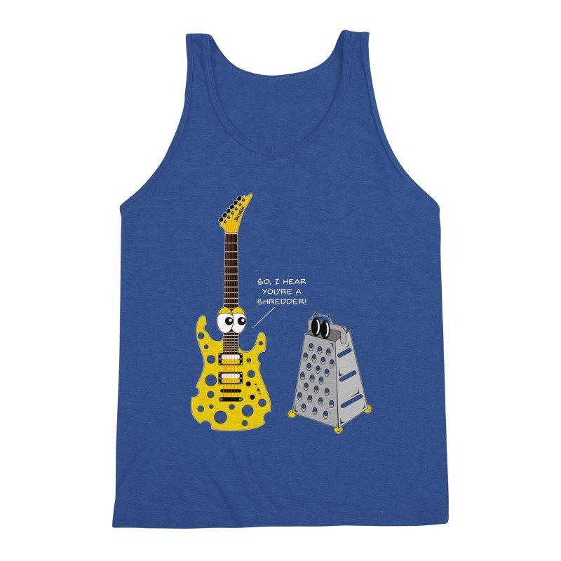 Shred Guitar Men's Tank by Armando Padilla Artist Shop