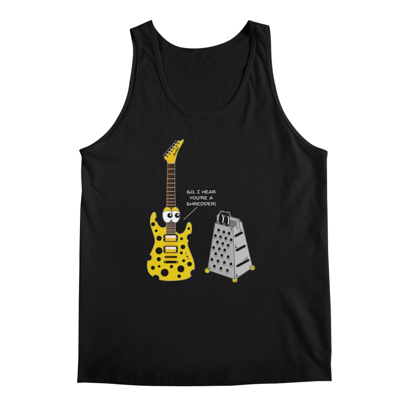 Shred Guitar Men's Regular Tank by Armando Padilla Artist Shop