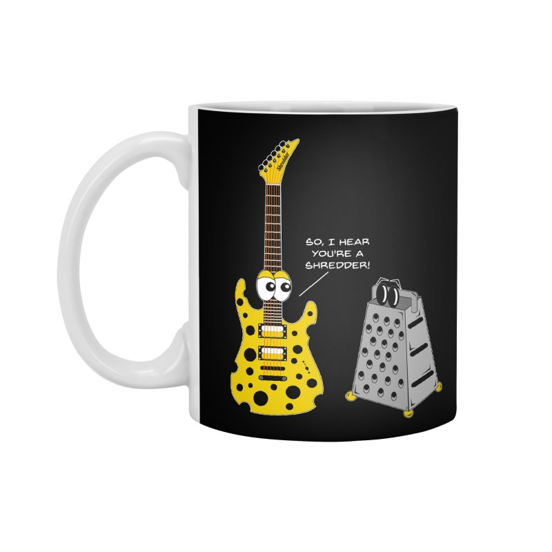 Shred Guitar Accessories Mug by Armando Padilla Artist Shop