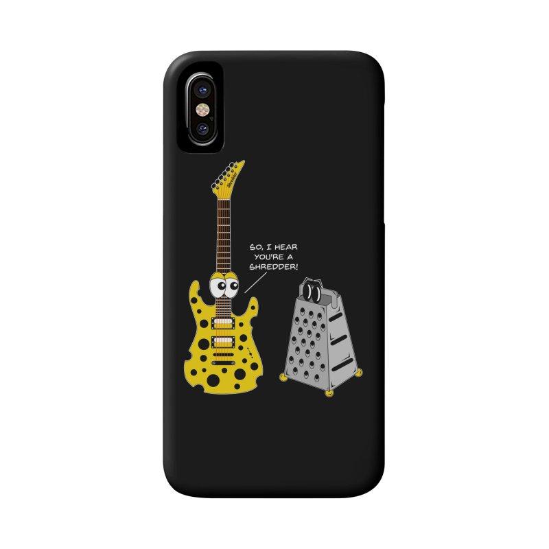 Shred Guitar Accessories Phone Case by Armando Padilla Artist Shop