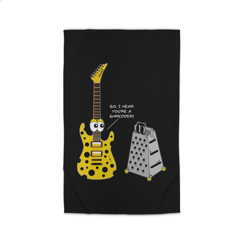 Shred Guitar Home Rug by Armando Padilla Artist Shop