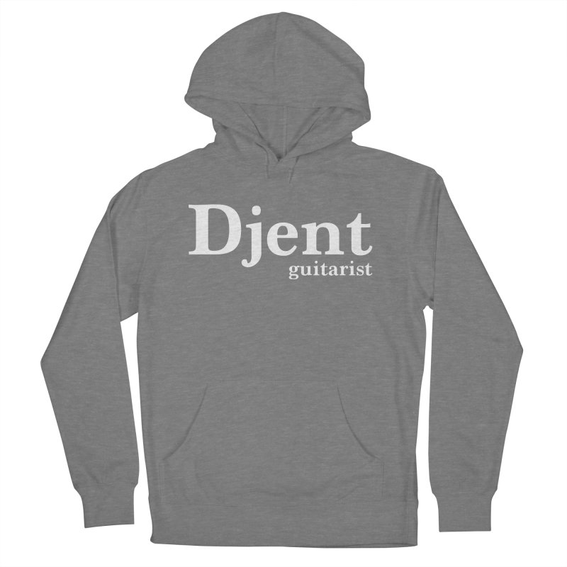 Djent Guitarist Men's French Terry Pullover Hoody by Armando Padilla Artist Shop