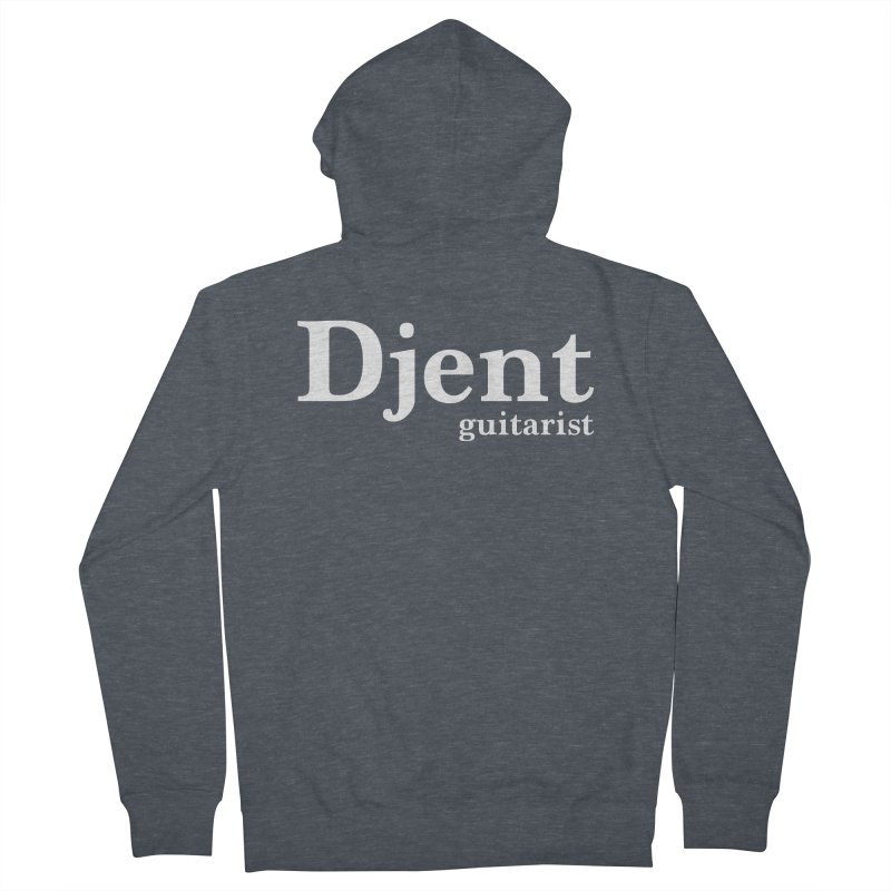 Djent Guitarist Men's French Terry Zip-Up Hoody by Armando Padilla Artist Shop