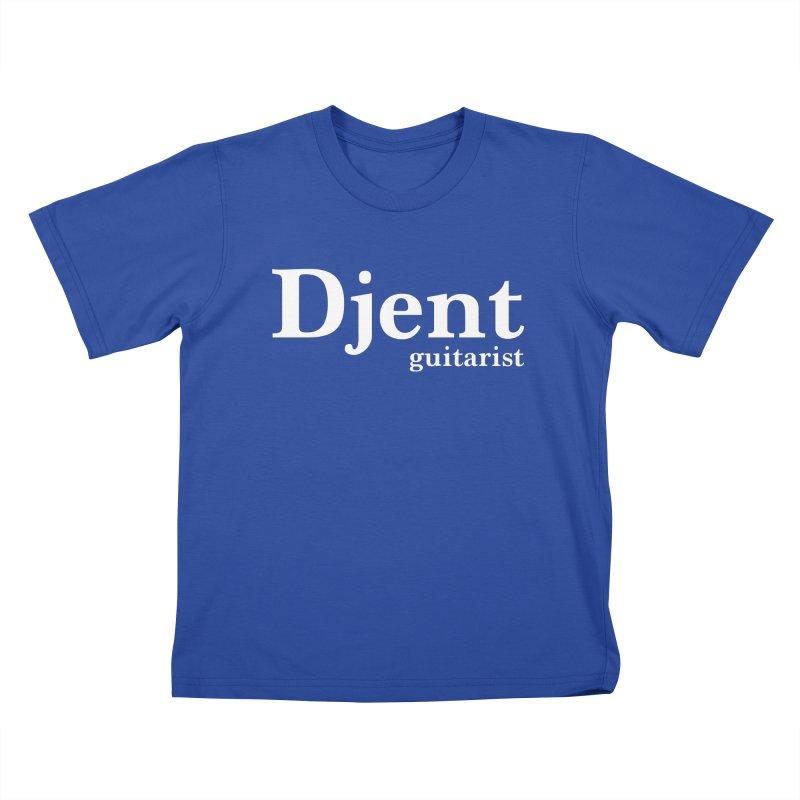 Djent Guitarist Kids T-Shirt by Armando Padilla Artist Shop