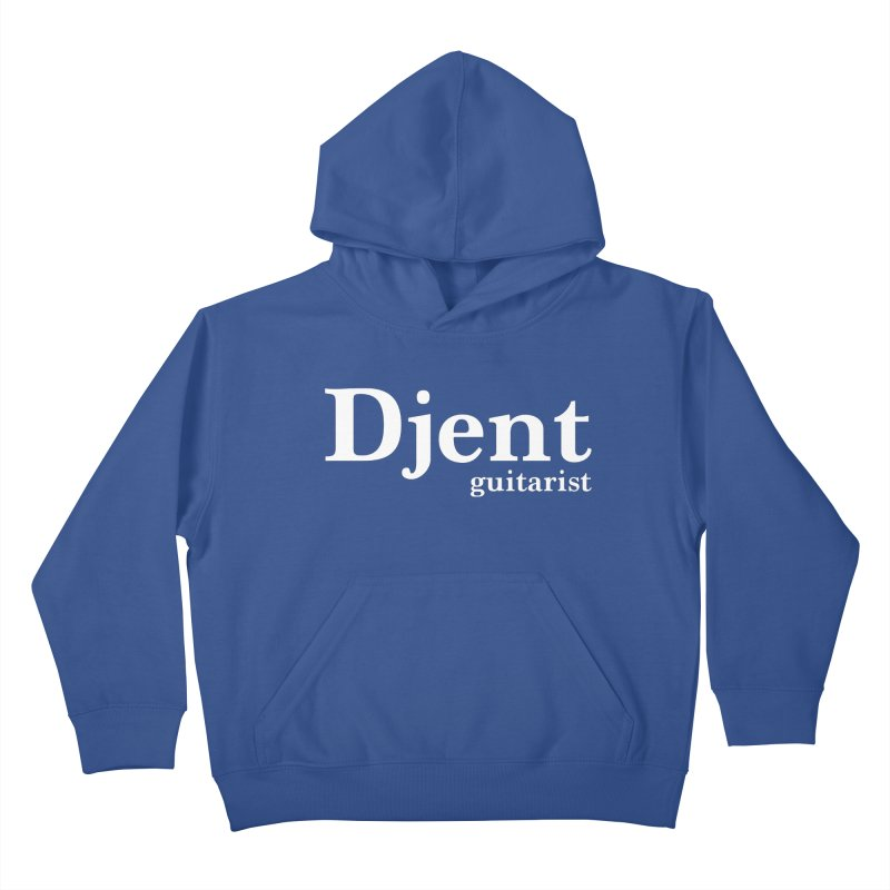 Djent Guitarist Kids Pullover Hoody by Armando Padilla Artist Shop
