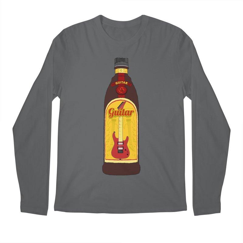 Guitar Bottle Men's Longsleeve T-Shirt by Armando Padilla Artist Shop